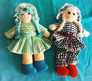 Muñecas De Trapo Y Peluches Para Niños En Super Oferta