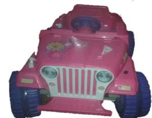 Carro De Bateria Barbie Fisher Price Con Bateria Y Cargador