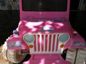 Carro Electrico De Barbie 12v