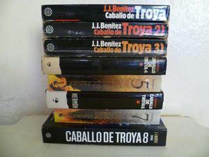 Colección Caballo De Troya De J.j Benitez, Libros Del 1 Al