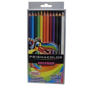 Colores Prismacolor 12 Colores