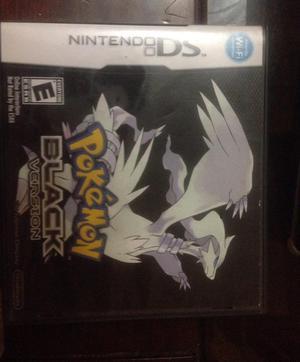 Juego Pokemon Black