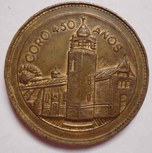 Medalla Conmemorativa De Los 450 Años De Coro