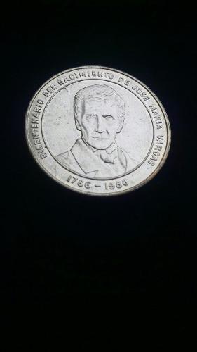 Moneda Bicentenario Jose Maria Vargas