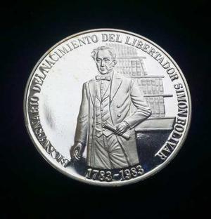 Moneda Bicentenario Libertador Simon Bolivar