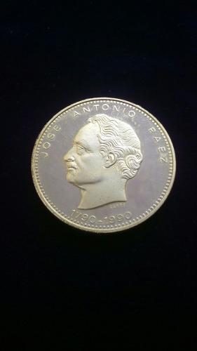 Moneda Colección Jose Antonio Paez