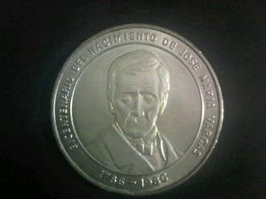 Moneda Conmemorativa De Jose Maria Vargas