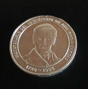 Moneda Conmemorativa Nacimiento De Jose Maria Vargas