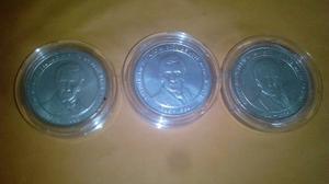 Moneda De Plata De Jose Maria Vargas
