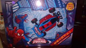 Spiderman Carro A Control Bateria Recargable