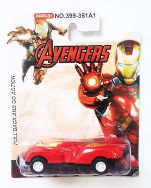 Carro Vengadores Hull Iron Man Carrito Juguete Avengers