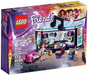 Lego Friends  Pop Star: Estudio De Grabación 172 Pzs