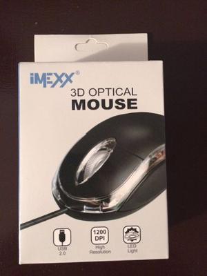 Mouse Optico Marca Imexx Producto Totalmente Nuevo