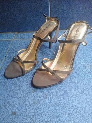 Sandalias de Tacon Alto Nello Rossi 37