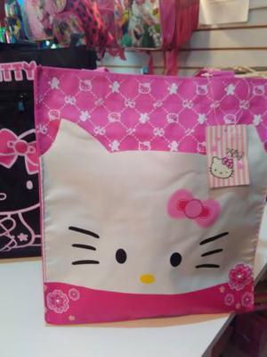Bolso Hello Kitty, Minnie Mouse Múltiples Usos 30x30