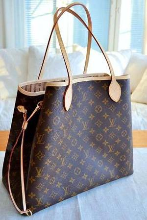 Cartera Bolso Tipo Cesta Lv Neverfull Cartera Louis Vuitton