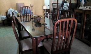 Mesa Comedor 6 Puestos