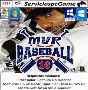 Mvp Baseball  Pc