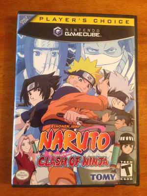 Naruto Clash Of Ninja Para Nintendo Gamecube
