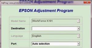 Reset Epson K101 Y Epson K% Ilimitado