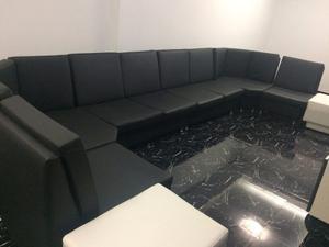 Sofa Modular Bipiel, Juego De Muebles, Sistema De Apartado
