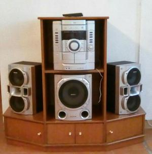Pin Vendo Equipo De Sonido Sony 6500 Watt Pmpo Mhc Gt555 Genezi De  # Muebles Equipo De Sonido