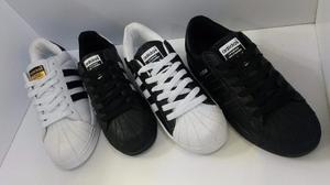 Zapatos adidas Superstar, Unisex, Tallas  Diseños.