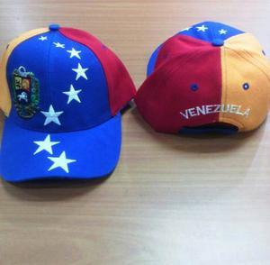Gorra Tricolor De Venezuela Adulto