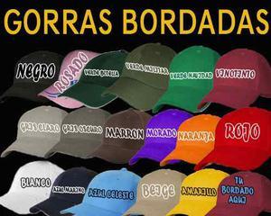 Gorras Bordadas Personalizadas Con Su Logo O Su Diseño