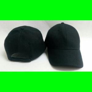 Gorras unicolor negra ideales para el bordado  36180dc8252