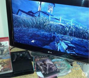 PLAY 3 SLIM 160 GB CON 2 JUEGOS Y 1 CONTROL BATMAN PS3