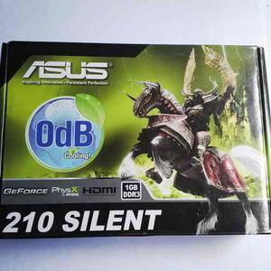 Tarjeta De Video Asus 210 Silent1gb Ddr3. Nuevo.