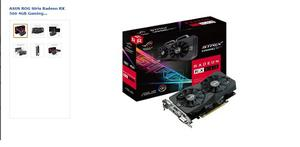 Tarjeta De Video Asus Rxgb Gaming Radeon