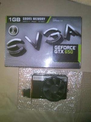 Vendo O Cambio Tarjeta De Video Evga Geforce Gtx 650 De 1gb
