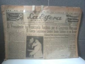 Antiguos Periódicos De Los 60 Del Diario La Esfera D