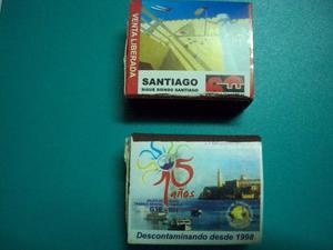 Cajas De Fósforo De Cuba (colección) Precio Por Las Dos