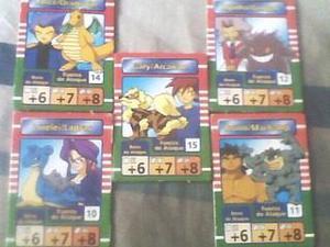 Cartas De Los 5 Maestros Pokemon (1era Temporada)