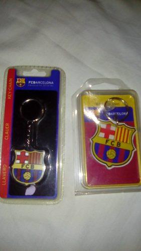 Dos Llaveros Del Fc Barcelona