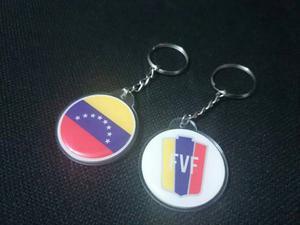 Llaveros Acrílicos La Vinotinto, Bandera Venezuela, Fvf