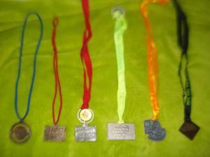 Medallas De Carrera 10k Gatorade Nike Caf
