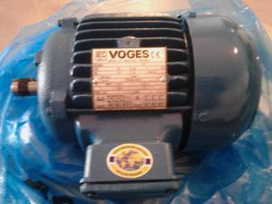 Motor de inducción trifasico 220v 1hp hz rpm