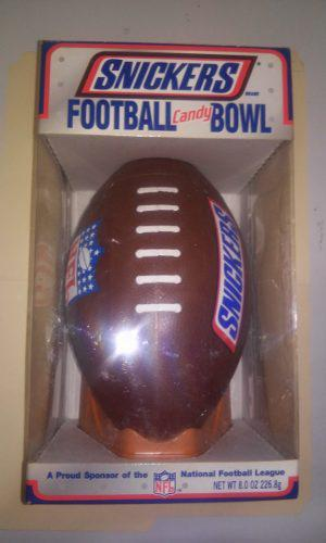 Snickers Football Candy Bowl