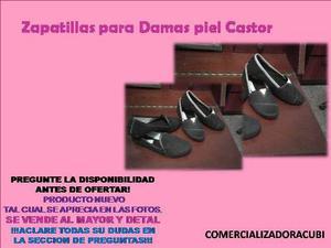 Zapatillas Piel De Castor Venta Al Mayor Y Detal