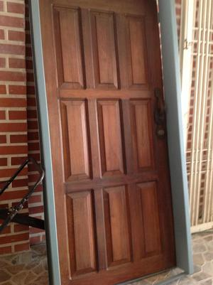 puerta masisa de madera en pardillo negro tel