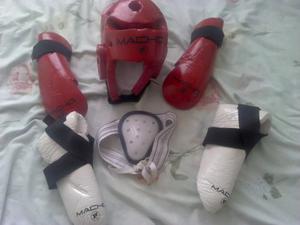 Combo De Equipos De Protección Macho Para Artes Marciales