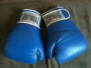 Guantes De Boxeo Everlast 14onz Como Nuevos En Remate