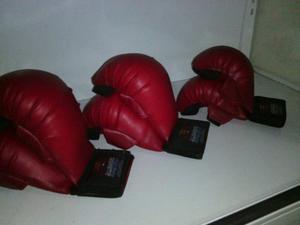 Guantines Para Karate Marca Bushido Color Rojo