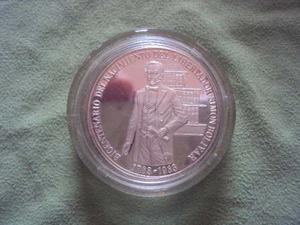 Moneda Plata Bicentenario Natalicio Libertador Simón