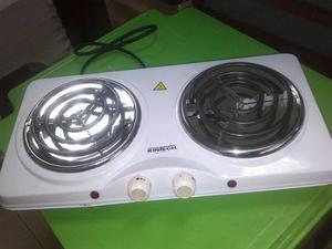 Cocina Electrica De 2 Hornillas Nueva De Paquete En Oferta