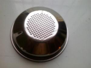 Filtro Metal Acero Cafetera Expreso Oster Mod:  Tazas